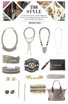 Stella & Dot tapped Susie DeSantos, Hollywood costume designer for the hit show Nashville. Check out her Rocker Chic look that's to die for!