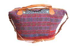 Extra Large Huipil Bag-Chisec