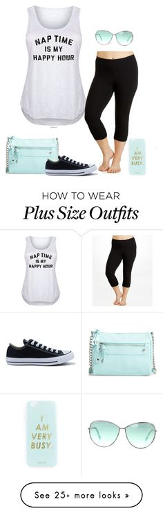 """""""Nap time!- plus size"""" by gchamama on Polyvore featuring It's Just Me, Hue, BP., Converse, Tom Ford, Miss Selfridge and plus size clothing"""