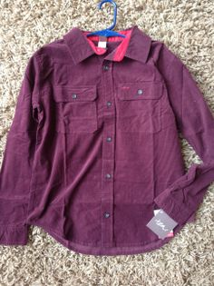 Cozy Fine-Wale Corduroy Shirt