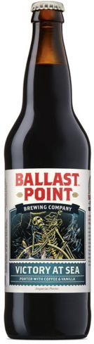Ballast Point Victory at Sea Imperial Porter is made with freshly brewed coffee from San Diego's Caffe Calabria