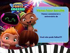 Convite Digital – Power Rockers – Liliane Design Rocket Birthday Parties, Baby Beat, George Pig, Ideas Para Fiestas, Rockers, Thomas And Friends, Mario Bros, Birthdays