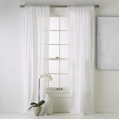 Crinkle-Cotton Curtain