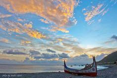 變化萬千美極了~ 在蘭嶼的夕陽