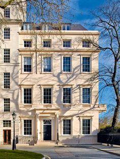 Wanderlust Europe — Carlton Gardens, a contemporary reinterpretation. Carlton Gardens, Beautiful London, Plant Based Diet, Residential Architecture, Real Estate, Mansions, Google Search, House Styles, Plants