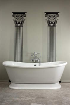 French Bathroom Fixtures benson freestanding bath | bathing beauties | pinterest