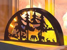 Schwibbogen  Weihnachtsmarkt  Lichterbogen Weihnachten Lichter-Bogen - Metall