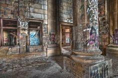 Michigan Center Train Station, Detroit
