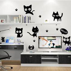 Vinil decorativo DIVER CATS