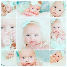 Lana 4 maanden 4 months old baby so cute