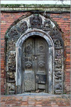 The door | 244|2010 Durbar Square - Patan - Kathmandu - Nepa… | Flickr