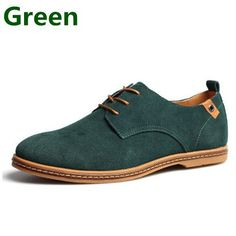 Genuine Leather Loafers - For Men