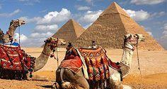 Pyramids of Giza - Cairo, Egypt