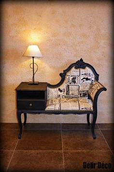 a fabulous telephone table!