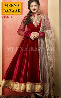 Fashion: Drashti Dhami Dresses Madhubala Collection from Meena Bazaar 2013