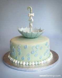 Great idea for a shower cake