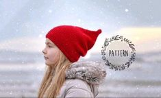 Crocheted Hats, Crochet Beanie, Christmas Gnome, Christmas Gifts, Gnome Hat, Funny Hats, Diy Hat, Stitches, Craft Supplies