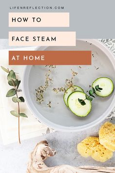 Did you know you can face steam at home without a trip to the spa? It's simple and satisfying to say the least. Organic Skin Care, Natural Skin Care, Organic Beauty, Natural Health, Face Steam, Aloe Vera Face Wash, Spa Food, Detox Your Home, Steam Recipes