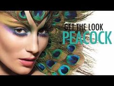 peacock make up how to