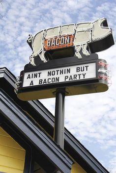 ain't nothing but a bacon party...
