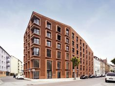 Modern Brick Apartment Building barretts groveamin taha architects | a : general | pinterest