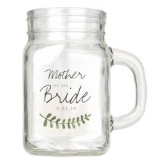 #monogrammed - #Rustic Ombre Watercolor Forest Wedding Mother Mason Jar
