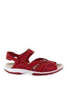 Easy Street Red Santana Sandal