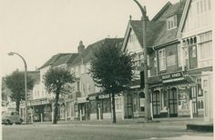 Epping High Street in the 1950s