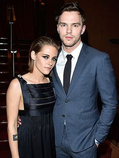 Star Tracks: Monday, September 14, 2015 | BLUE STEEL | Kristen Stewart and co-star Nicholas Hoult attend the Equals premiere during the 2015 Toronto International Film Festival in Canada on Sunday.