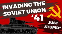 """The German Invasion of the Soviet Union 1941 is often called """"just stupid"""" by various people, although the operation clearly failed, the statement woefully i. The Third Reich, Hindsight, Soviet Union, Military History, Ww2, Stupid, Victorious, German, Knowledge"""