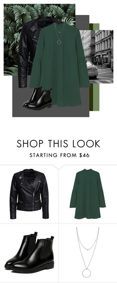 """""""under the palmtrees"""" by merlemarienielsen ❤ liked on Polyvore featuring Sisters Point, MANGO, WithChic and Botkier"""
