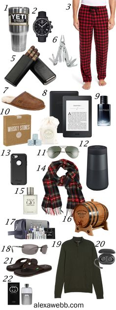 Christmas Gift Ideas for Men Guide - My Christmas gift ideas for the men in your life! #alexawebb