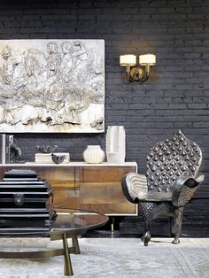 Ashy hues add depth to a variety of surfaces, from floors to walls to furniture. We think of gray finishes as a more modern twist on classic raw materials, providing a neutral-meets-natural...
