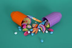 Vitamins & Placebo by Zim And Zou , via Behance
