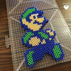 Luigi perler beads by piercepopart