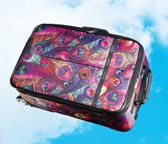 Lesportsac peacock suitcase )(amazon.com) $150