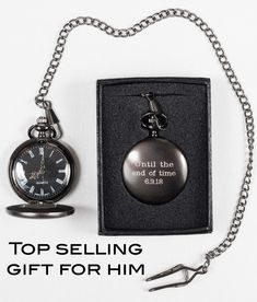 This timeless watch piece is the perfect gift to remember your special day. Personalized with three lines and up to 10 characters per line. Each pocket watch is custom engraved just for you! Gifts For Hubby, Gifts For Father, Personalized Wedding Gifts, Customized Gifts, Watch Engraving, Wedding Gifts For Bridesmaids, Flower Girl Gifts, Father Of The Bride, Groomsman Gifts