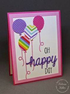 Mel's Card Corner | Oh Happy Day
