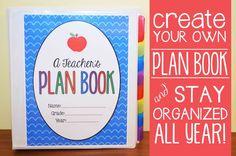 the teacher wife: how to create your own teacher binder