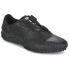 Sneaker+Low+Puma+MOSTRO+PERF+LEATHER+Schwarz+109.00+€