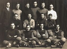 University of Tennessee Football team 1912