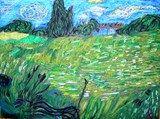 Artsonia Art Exhibit :: 4th grade: Van Gogh Landscapes