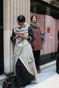 Интересности с Paris Fashion Week / Street Style /