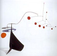 Alexander Calder- saw this one at the McNay museum of art in San Antonio June 2013