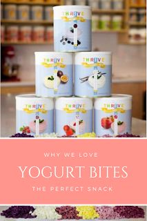 Yogurt Bites by Thrive Life are the best! Great finger foods for babies, toddlers and adults! Healthy Snacks For Kids, Healthy Eating, Healthy Recipes, What Is Thrive, Fingerfood Baby, Yogurt Bites, Thrive Life, Baby Finger Foods, Some Ideas