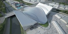 Zaha Hadid London Aquatics Centre #Hadid #Zaha Pinned by www.modlar.com