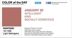 APPart – Mobile Art – Pantone Color of the Day – 'Light Mahogany' – TheAppWhisperer