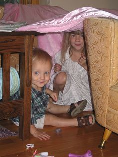 blanket forts ~ ah the memories