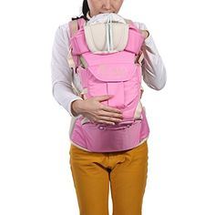 Baby Hip Seat Carrier Child Comfortable Multi-function Carrier Backpacks (Pink) ** FIND OUT ADDITIONAL DETAILS @: http://www.best-outdoorgear.com/baby-hip-seat-carrier-child-comfortable-multi-function-carrier-backpacks-pink/