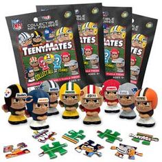 NFL Teenymates as party favors
